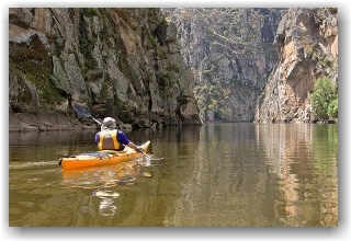 arribes del duero en kayak baja